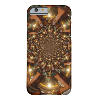 Silver and Gold Barely There iPhone 6 Case