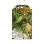 Silver and Gold Christmas Tree I Holiday Gift Tags