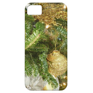 Silver and Gold Christmas Tree I Holiday iPhone 5 Covers