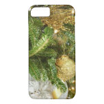 Silver and Gold Christmas Tree I Holiday iPhone 8/7 Case