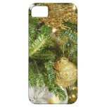 Silver and Gold Christmas Tree I iPhone SE/5/5s Case