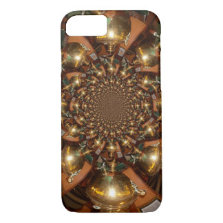 Silver and Gold iPhone 7 Case