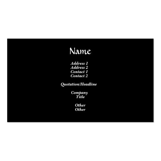 Silver and Gold Snowflake #2 Double-Sided Standard Business Cards (Pack Of 100)