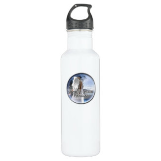 Silver and Grace Woman 24oz Water Bottle