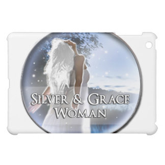 Silver and Grace Woman iPad Cover