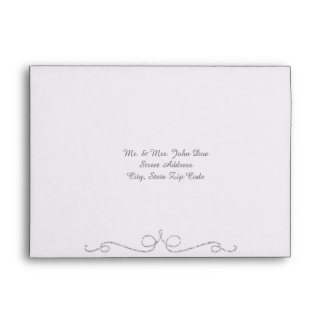 Silver and Gray Foil Envelopes