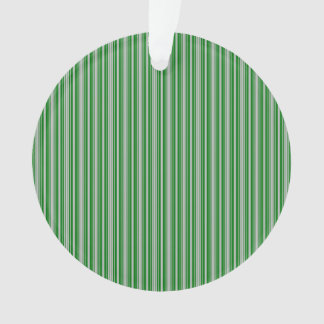 Silver and Green Christmas Stripes