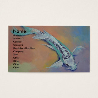 Silver and Jade Business Card