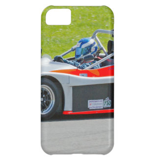 Silver and red single seater racing car iPhone 5C cases