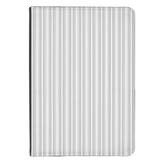 Silver and White Stripes Kindle Cover