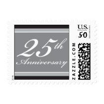 Silver Anniversary Blocks Postage