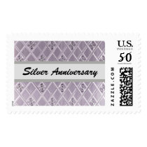 Silver Anniversary Postage Stamps