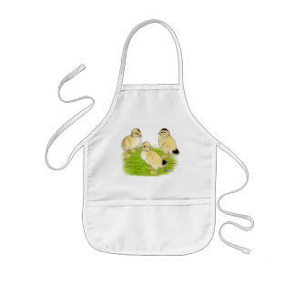 Silver Appleyard Ducklings Kids' Apron