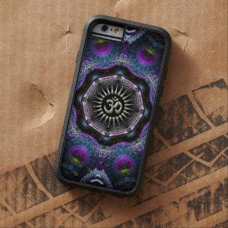 Silver Aum Hexagon Fantasy Fractals New-Age Tough Xtreme iPhone 6 Case