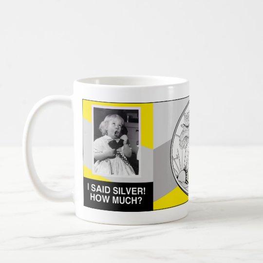Silver Baby Coffee Mug