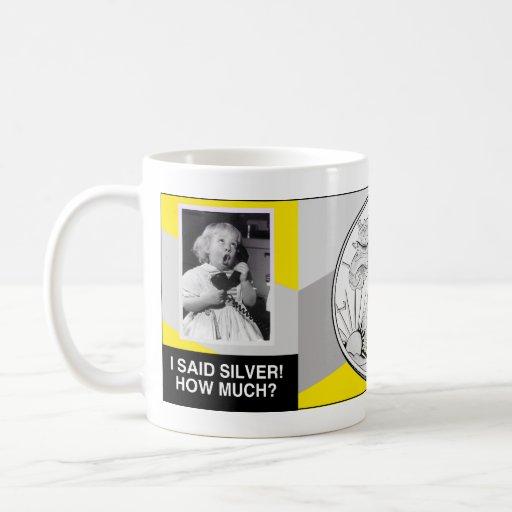 Silver Baby Mug