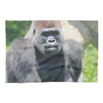 Silver Back Gorilla Hand Towel