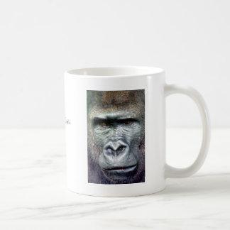 Silver Back Gorilla II Mugs