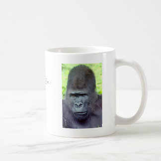 Silver Back Gorilla Mugs