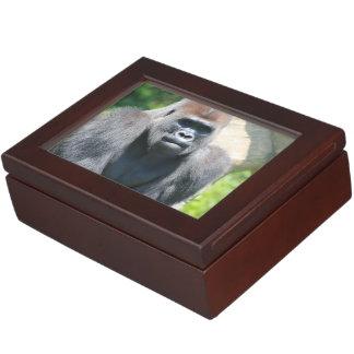 Silver Back Gorilla Keepsake Boxes
