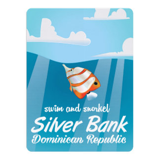 Silver Bank Dominican Republic Snorkel travel Card