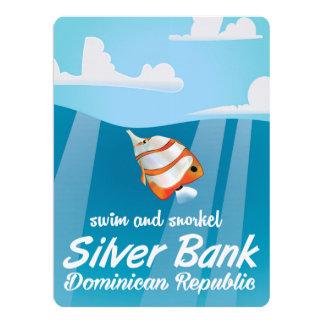 Silver Bank Dominican Republic Snorkel travel Card
