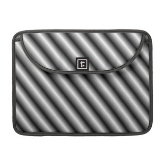 Silver Bars MacBook Pro Sleeve