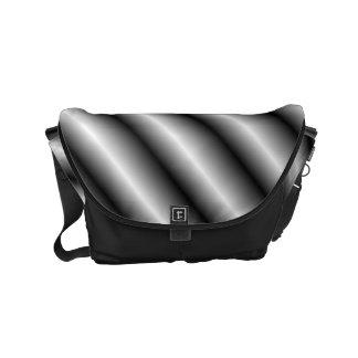 Silver Bars Small Messenger Bag