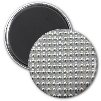 Silver Beads Pattern Magnets
