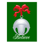 Silver Bell Believe Post Card