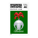 Silver Bell Believe Postage