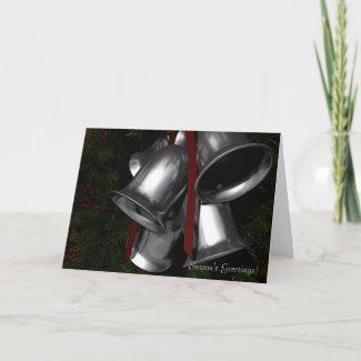 """Silver Bells"" Card"