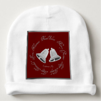 Silver Bells Christmas Baby Beanie