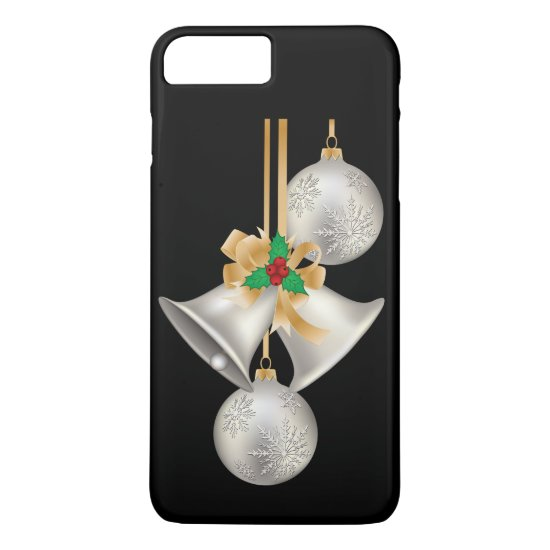 Silver Bells Christmas Phone Case