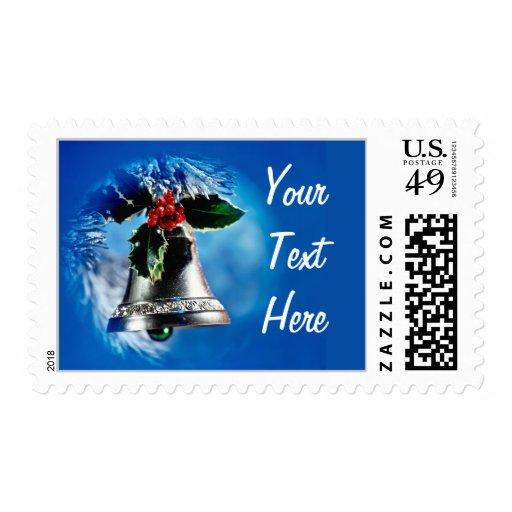Silver Bells Postage Stamp