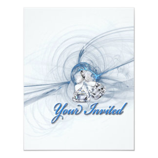 Silver Bells Your Invited Wedding Invitations