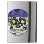 Silver Biker Candy Skull Ipad Air Case