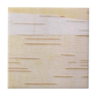 Silver Birch Bark Tile