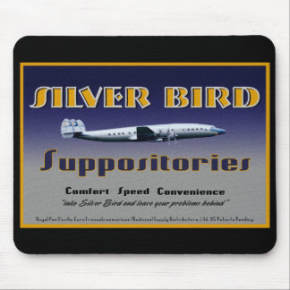 Silver Bird Suppositories mouse pad