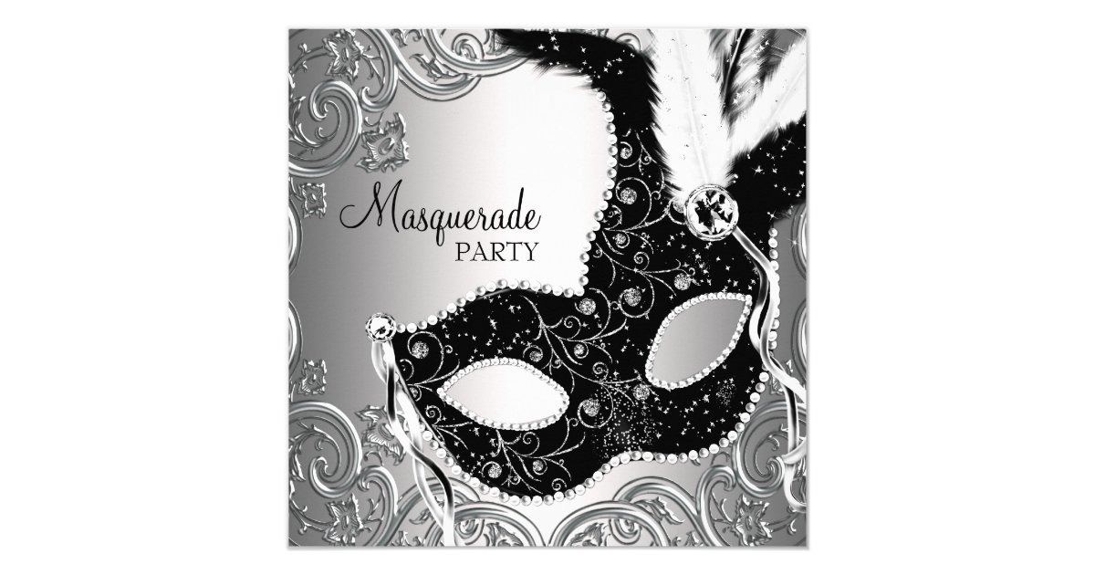 Mask Invitations Masquerade Party Mask Free Wedding Invitation Cards – Mask Invitations Masquerade Party