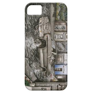 Silver & Black Rider iPhone SE/5/5s Case
