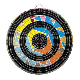 Silver Black Wheels - Happy Time Graphics Dart Boards