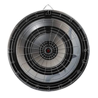 Silver Black Wheels - Happy Time Light Shades Dartboards