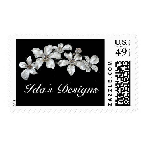 Silver bling jewelry postage
