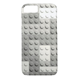 Silver blocks iPhone 8/7 case