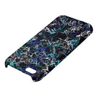 Silver Blue Mix-up iPhone 5 Case