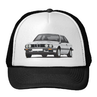 Silver BMW 3 series (E30) Trucker Hat