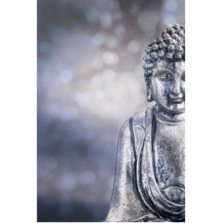 silver Buddha Statuette