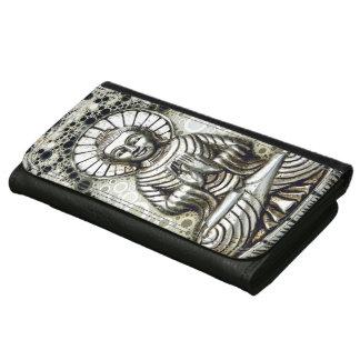 Silver Buddha Wallet