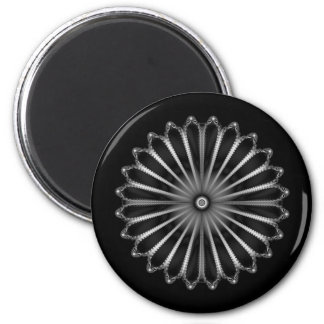 Silver Button Magnet